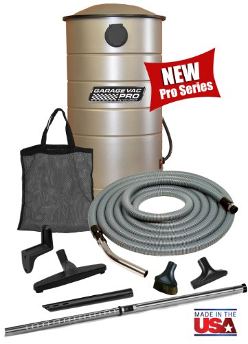 VacuMaid GV30PRO Professional Wall Mounted Utility Vacuum with 30 ft Hose and Tools