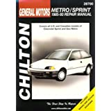 GM Chevrolet Sprint/Geo Metro, 1985-93 (Total Car Care)