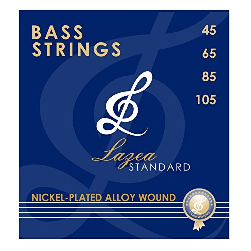 bass guitar strings lazea standard 4 strings nickel alloy wound 045 105 arts. Black Bedroom Furniture Sets. Home Design Ideas