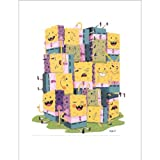 SpongeBob: Sponges Art Print