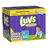 Luvs With Ultra Leakguards Size 2 Diapers 228 Count