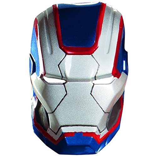Iron Patriot Vacuform Mask Costume Accessory Adult Iron Man 3 Halloween (Best Ironman Costume)