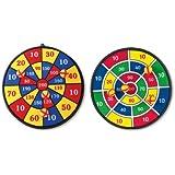 SUN & FUN 50119 - Dart-Game, 5teilig, 37 cm Durchmesser