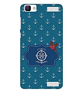 EPICCASE anchor of o Mobile Back Case Cover For Vivo V1 Max (Designer Case)