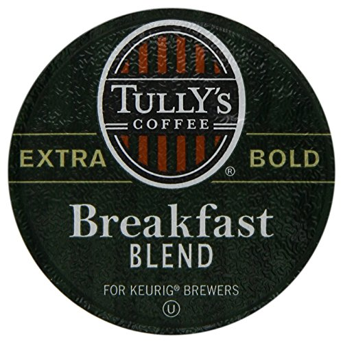 Keurig, Tully's Breakfast Blend, Light Roast Coffee Extra Bold 24 K-Cup Single Serve Packs (Keurig Lock compare prices)