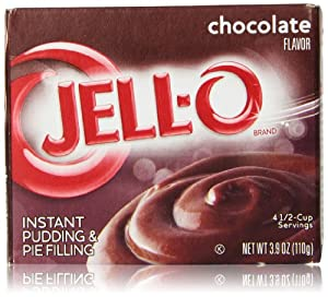 Jell-O Instant Pudding & Pie Filling, Chocolate, 3.9 Oz