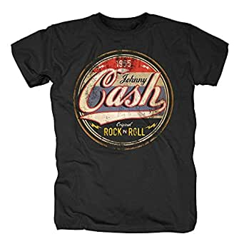 Johnny Cash Herren T-Shirt - Original Rock n Roll (XXL)