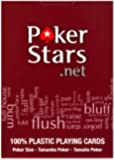 Copag Jumbo Size Red Poker Stars Deck of Cards