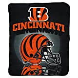 "Cincinnati Bengals Super Soft Fleece Blanket (Dimensions 50"" x 60"")"