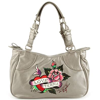 Ed hardy charlotte eternal love tote bag silver jpg 395x395 Ed hardy purses  and bags 13c05c84f8df1