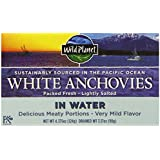 Wild Planet Wild Anchovies in Water, 4.4 Ounce (Pack of 12)