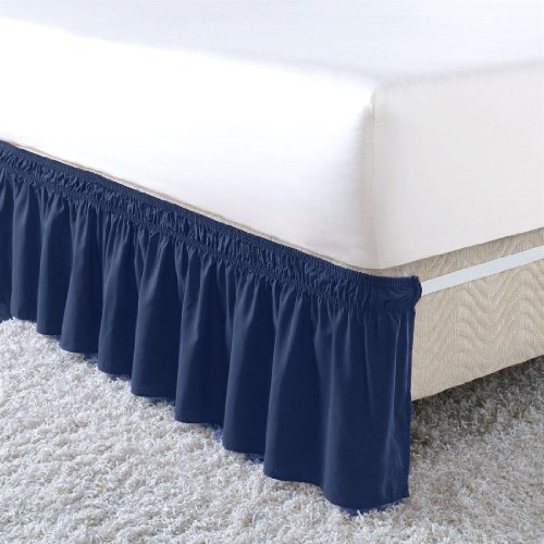 Brylanehome Wrap Around Ruffle Bedskirt back-214157