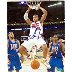David West Autographed Hand Signed 8x10 Photo (New Orleans Hornets) Image #3