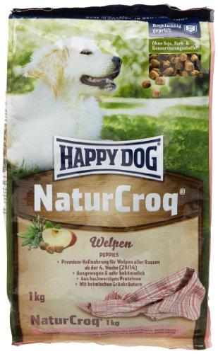 happy dog naturcroq welpen 4 kg preisvergleich hundefutter g nstig kaufen bei. Black Bedroom Furniture Sets. Home Design Ideas