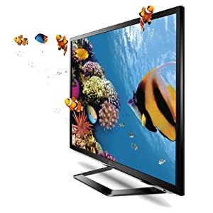 LG Cinema 3D 1080p 120 Hz LED-LCD HDTV with Smart TV and Six Pairs of 3D Glasses