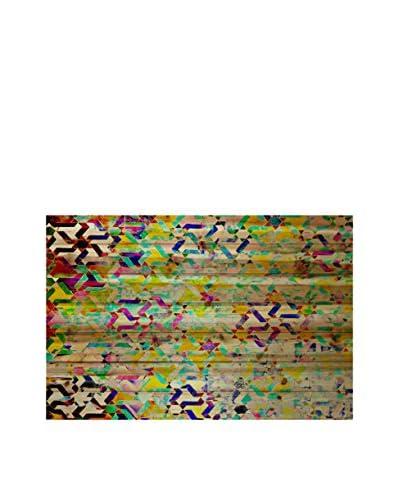 Parvez Taj Safi Pine Wood Wall Art
