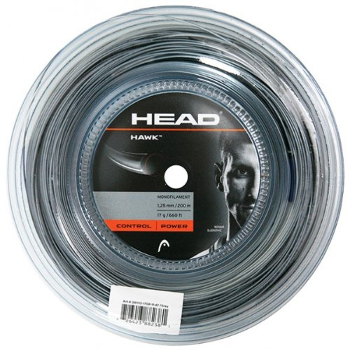 head-hawk-corda-tennis-matassa-grigio-130mm
