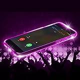 iPhone6sPlus iPhone6Plus LEDフラッシュ ケース 光るケース 着信で光る 保護ガラス バンパー 耐衝撃 ポリカーボネート TPU ハード ソフト AITC-FL-IP6SP