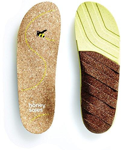 Honey Soles Natural Cork Shoe Insoles (Cork Shoe Inserts compare prices)