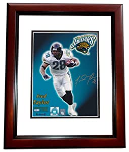 Fred Taylor Autographed Hand Signed Jacksonville Jaguars Limited 8x10 Photo -... by Real Deal Memorabilia