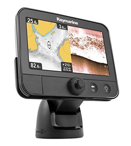 Raymarine Dragonfly 7 Sonar GPS Navionics+ Fish Finder with CPT-60 Transducer