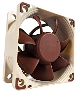 Noctua NF-A6X25 FLX fan, cooler & radiator