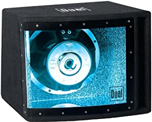 Dual SBP10 10-Inch Bandpass Illuminite Subwoofer System (Black)