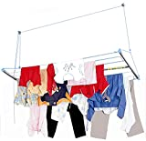 Skylift Ceiling Mounted Cloth Drying laundry Hanger Stand Rack with Pulley for pull and dry easy dry systems