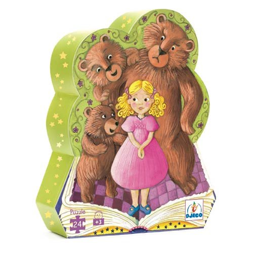 Cheap Djeco Goldilocks Silhouette Puzzle by Djeco (B001IBNFMK)