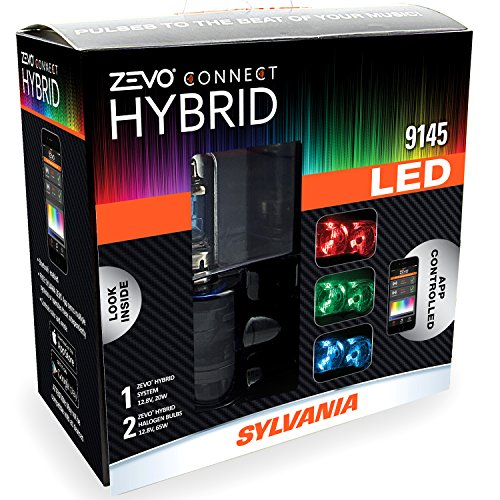 SYLVANIA 9145 ZEVO Connect Hybrid LED Color Changing System for Headlights (2004 Srx Headlight Assembly compare prices)