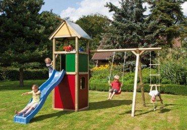 WINNETOO Spielturm Kletterturm bunt GP852 kaufen
