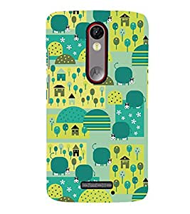 Signals City Corp Cute Fashion 3D Hard Polycarbonate Designer Back Case Cover for Motorola Moto X Force :: Motorola Moto X Force Dual SIM