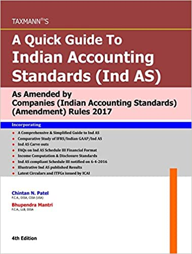 Quick Guide To Indian Accounting Standards (Ind AS)
