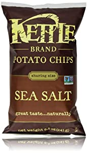 Kettle Chips, Sea Salt, 8.5 Oz