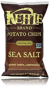 Kettle Chips, Sea Salt, 8.5 Oz