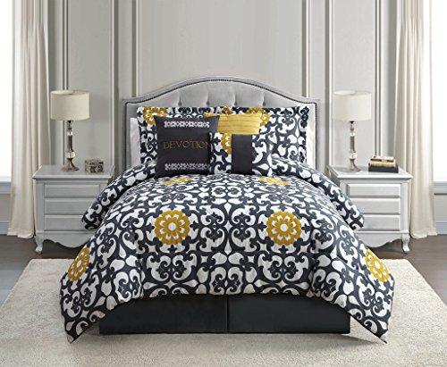 7 Piece Queen Devotion Print Comforter Set front-187873