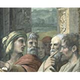 The Conversion of the Proconsul (The Blinding of Elymas), detail, by Raphael (V&A Custom Print)