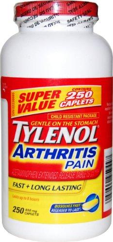 tylenol-arthritis-pain-250-caplets-bottle-650mg-acetaminophen