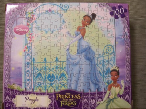 Visit Disney Princess Tiana & The Frog 100 Piece Puzzle Details