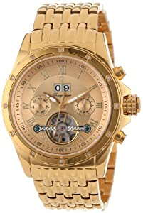 Burgmeister Men's BM127-279 Royal Diamond Automatic Watch