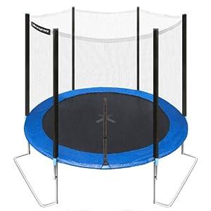 Ultrasport Jumper trampoline de jardin 251 cm avec filet de securité