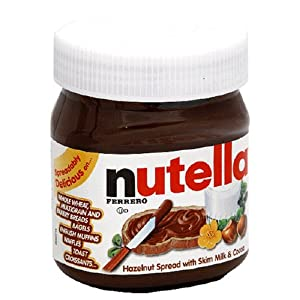Nutella Hazelnut Spread, 13-Ounce Plastic Jar (Pack of 5)