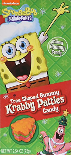 SpongeBob Krabby Patties Tree Shaped - 1