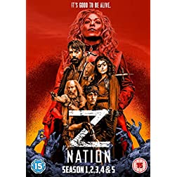 Z Nation: Season 1-2-3-4-5 Box Set
