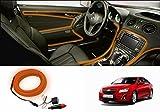 Speedwav Car Interior Ambient Wire Decorative LED Light Orange-Chevrolet Cruze Type 2 (2014-2015)