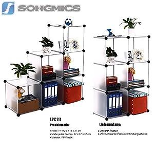 Songmics - Estantería por módulos