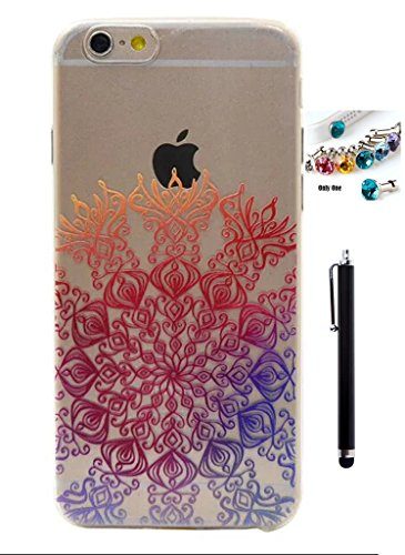 Cartoon-Muter-TPU-Silikon-Crystal-Soft-Apple-Iphone-6S-HlleIphone-6-Hlle-47-Zoll-Ultra-SlimThinDnn-Weich-Gel-Kristall-Schutzhlle-Backcover-Anti-Kratz-Zurck-Wasserdichte-Case-Transparent-Frame-Skin-Sto