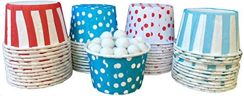 Outside the Box Papers Dr. Seuss Themed Polka Dot and Stripe Candy/Nut Cups