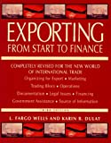 Exporting from Start to Finance