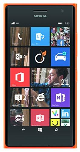 Nokia Lumia 735 Smartphone débloqué 4G (Ecran : 4.7 pouces – 8 Go – Windows Phone 8) Orange